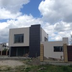 Фасад дома по проекту X5