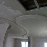 Работа над потолками