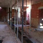 Подготовка к демонтажу перекрытия