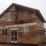 Начало фасадных работ