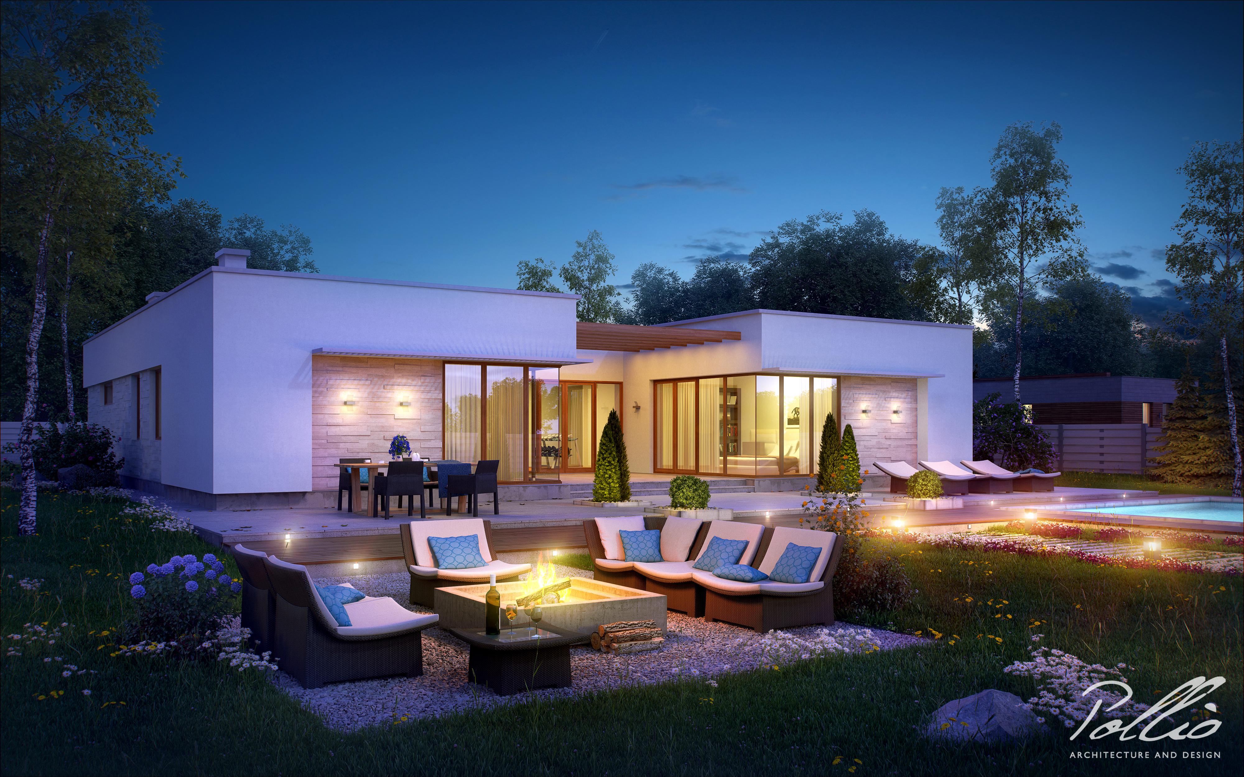 Проект дома X7