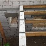 Монтаж деревянного перекрытия